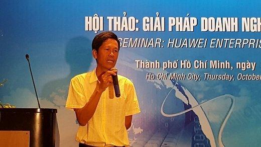Việt Nét giới thiệu giải pháp doanh nghiệp của Huawei