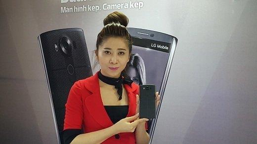 LG ra mắt smartphone cao cấp V10 với giá 15.990.000 đồng