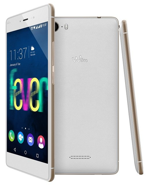 Wiko FEVER white-gold compo-3