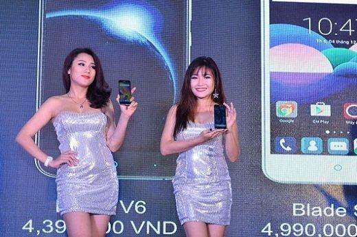 ZTE ra mắt một loạt smartphone mới cho năm 2016