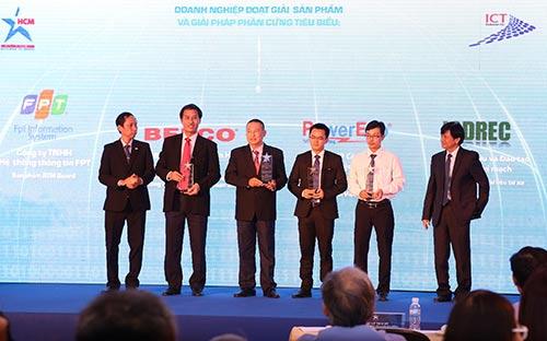 TP.HCM 23 đơn vị nhận giải thưởng CNTT