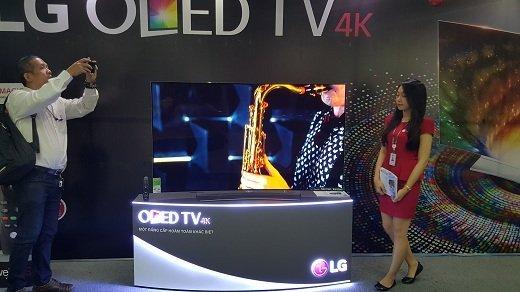 LG ra mắt TV OLED 4K tại Việt Nam