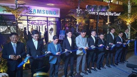 Samsung khai trương cửa hàng trải nghiệm sản phẩm ở Nguyễn Huệ