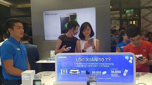 Samsung khai trương cửa hàng trải nghiệm sản phẩm ở Nguyễn Huệ 2