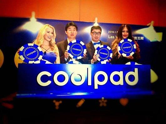 2.Phó giám đốc tập đoàn Coolpad Jingsheng Cao và Phó giám đốc Coolpad Mỹ Charlie Parke tại buổi lễ công bố thay đổi bộ nhận diện thương hiệu