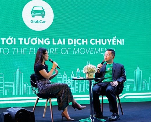 Launching GrabCar in HCMC
