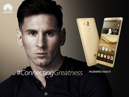 Messi Huawei Brand Ambassador