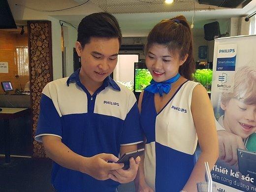 Philips ra mắt 3 smartphone có pin trâu tại Việt Nam