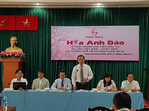 Le hội Hoa Anh Đào