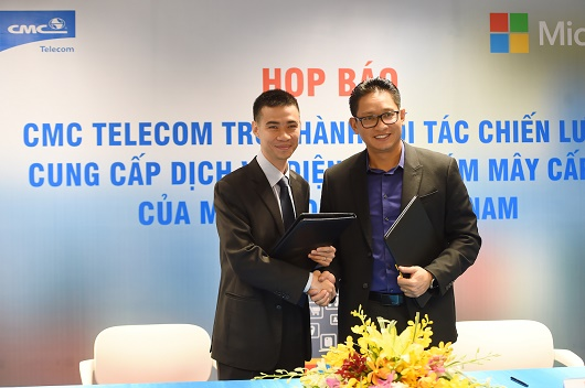 CMC Telecom cung cấp dịch vụ CSP cấp 1 của Microsoft