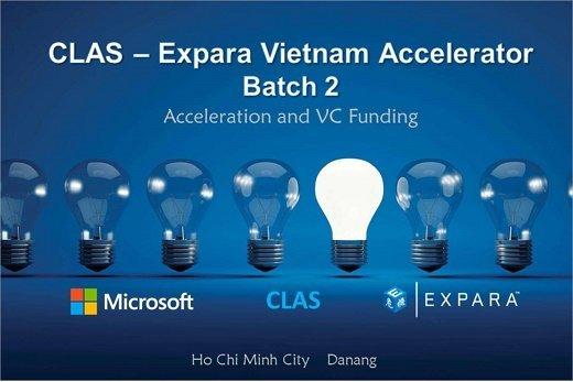 CLAS Expara Vietnam Accelerator khởi động đợt 2 tại TP.HCM và Đà Nẵng