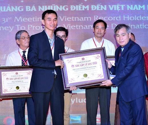 TV LG nhận Kỷ lục TV OLED 4K đầu tiên tại Việt Nam
