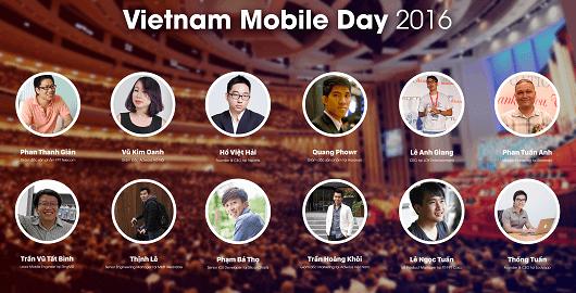 Google và hàng trăm công ty thương mại di động tại Vietnam Mobile Day 2016