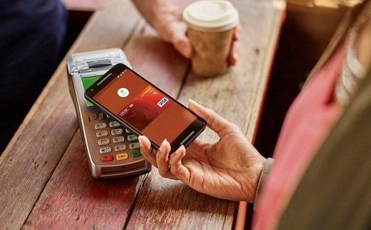 Android Pay đến Asia Singapore