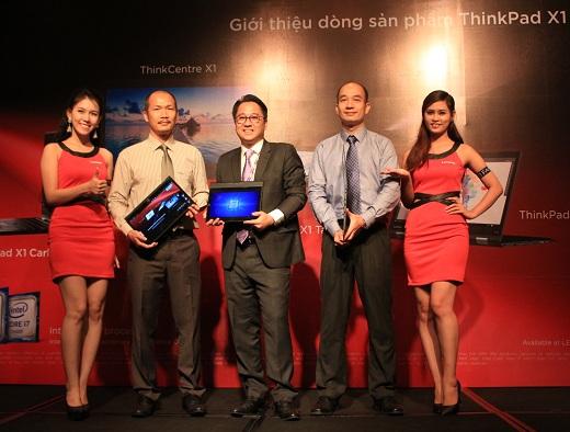 Lenovo ra mắt dòng máy ThinkPad X1 cho doanh nghiệp