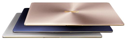 ASUS ZenBook 3 UX390 royal blue rose gold quartz grey