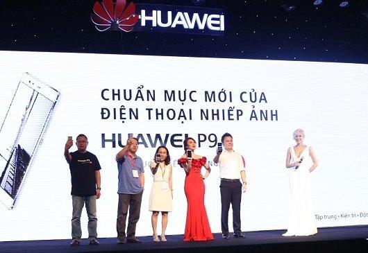 Ra mat san pham Huawei P9