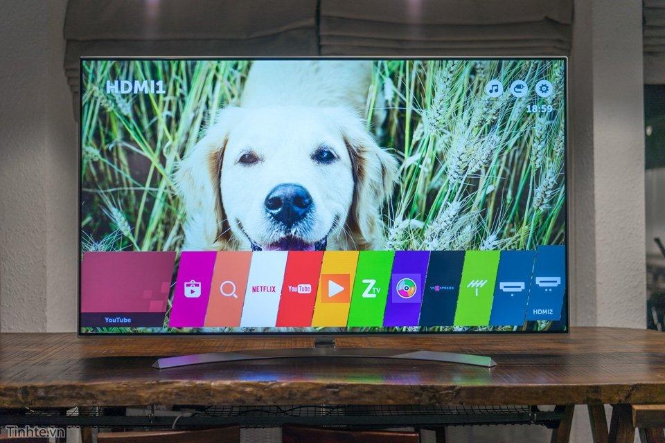 TV LG sử dụng tấm nền LCD IPS