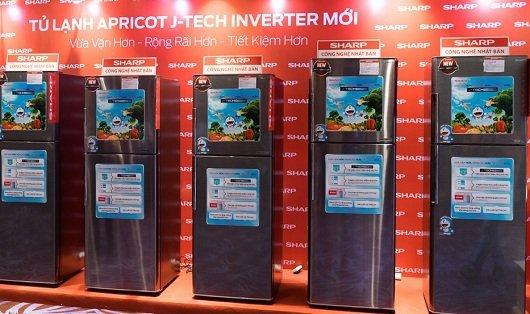Tu lanh sharp - J-Tech inverter