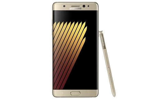 Galaxy-Note-7 Grace Standard gold