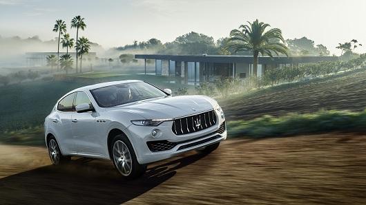 Maserati ra mắt dòng xe SUV Levante giá 499 tỷ đồng