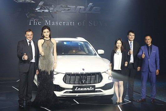 Maserati ra mắt dòng xe SUV Levante giá 499 tỷ đồng 02