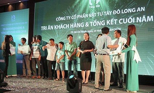 Công ty CP Vật tư Tây Đô Long An đã kỷ niệm 10 năm thành lập