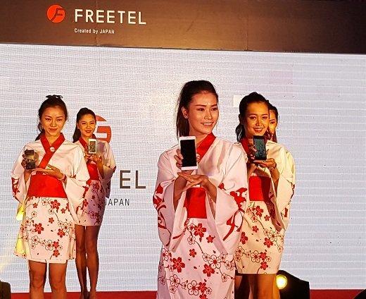 FREETEL Nhật Bản vào Việt Nam và ra mắt 5 smartphone