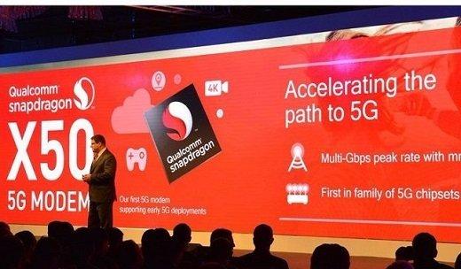 Qualcomm công bố modem 5G Snapdragon X50