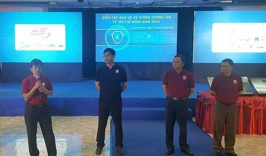 TP.HCM diễn tập bảo vệ hệ thống thông tin