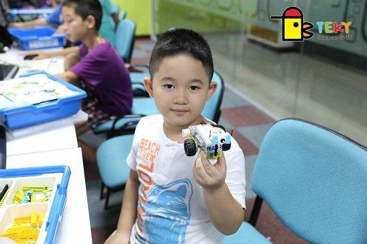 Teky cuộc thi lập trình quốc tế tại Indonesia dành cho trẻ 6-9 tuổi