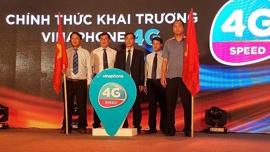 VNPT VinaPhone là nhà mạng đầu tiên triển khai 4G tại Việt Nam