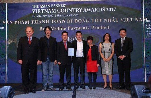 Momo đạt giải thưởng sản phẩm thanh toán di động tốt nhất VN