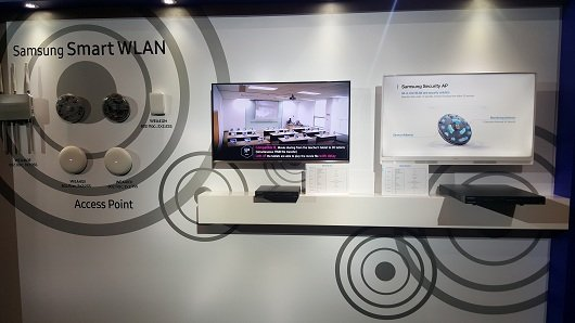 Samsung ra mắt bộ giải pháp Smart WLAN 2017