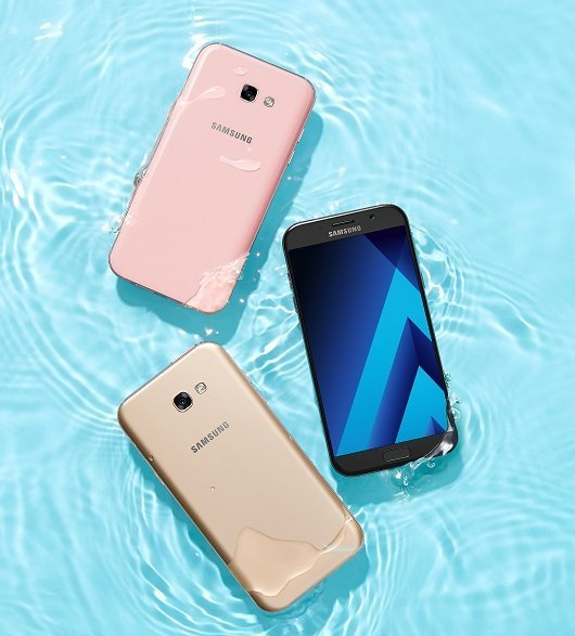 04 GALAXY A Black Gold Pink