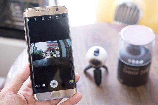 Samsung Galaxy S7 - Gear 360