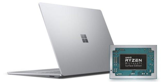 Microsoft Surface Laptop 3 dùng chip AMD Ryzen phiên bản đặc biệt - 276597
