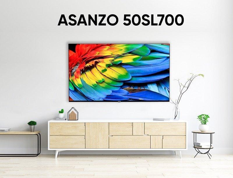Kết quả hình ảnh cho Asanzo giới thiệu iSLIM TV